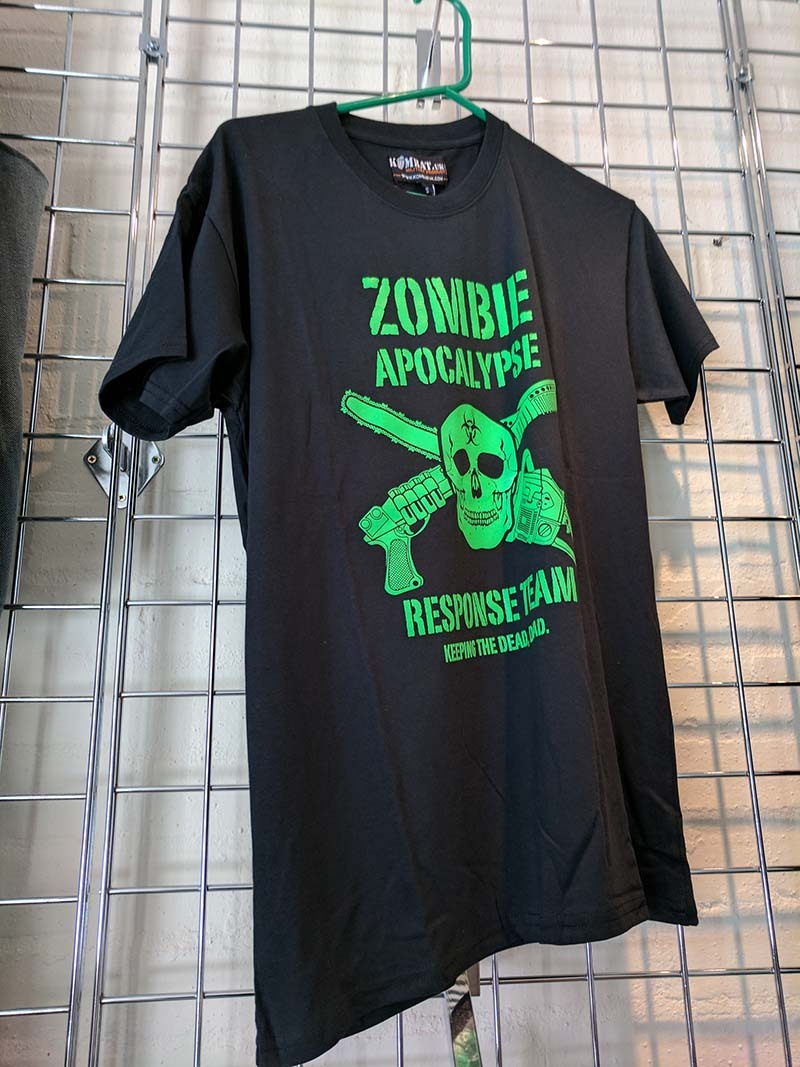 219974c0b5 T-Shirt for sale at the UK Prepper Store, Bedfordshire